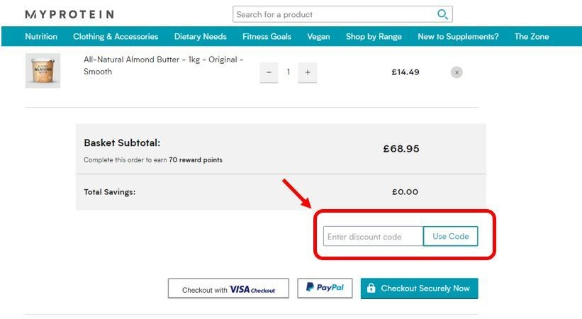 MYPROTEIN discount codes   33% off   The Independent