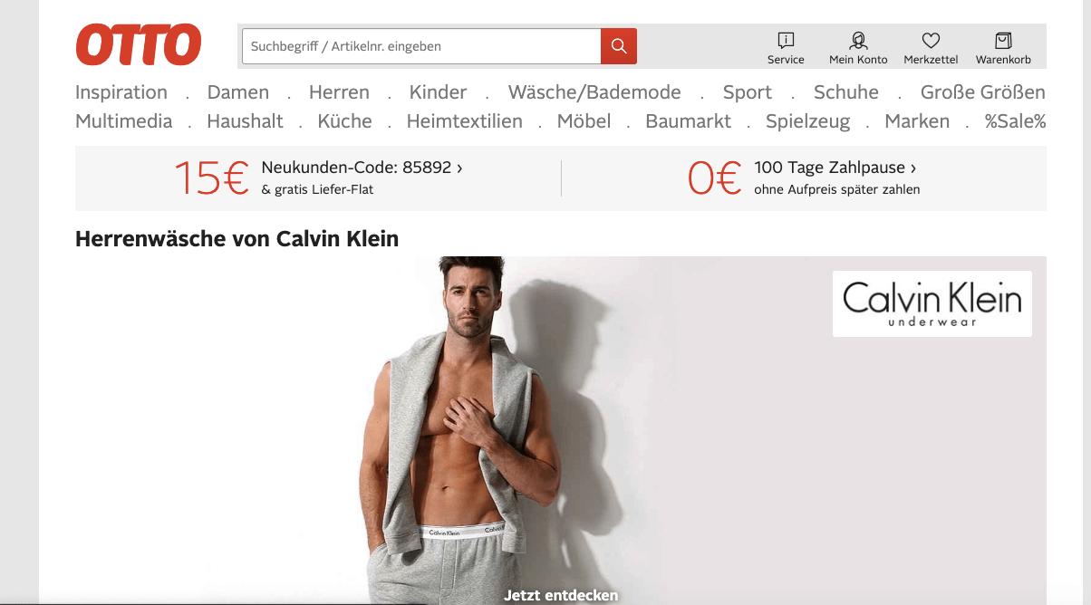 Otto Gutschein 15 Sparen Juni 2019 Faz