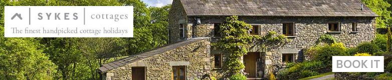 Sykes Holiday Cottages shop banner