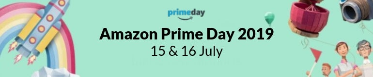 Amazon Prime Day shop banner