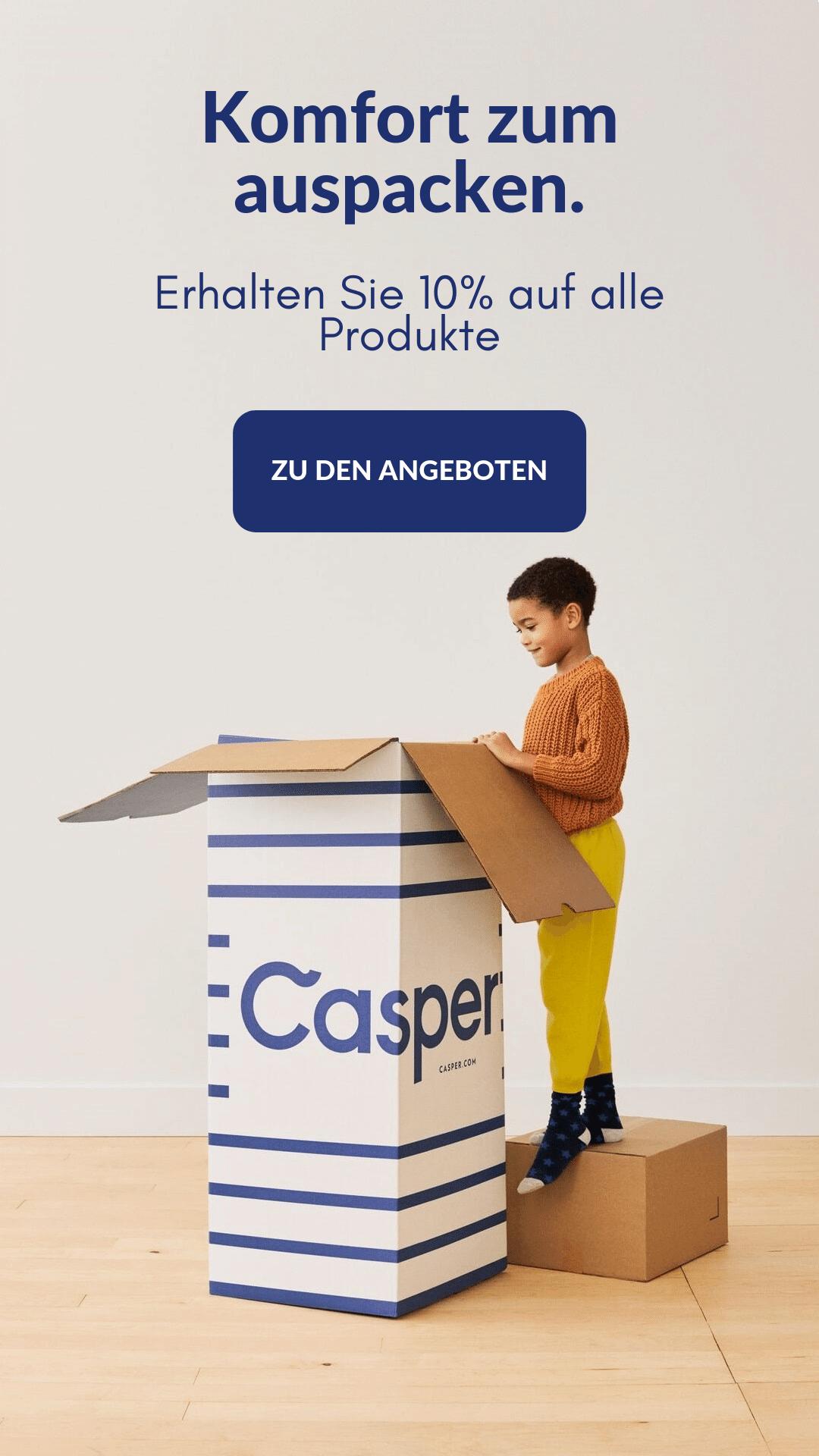 Casper Exclusive code