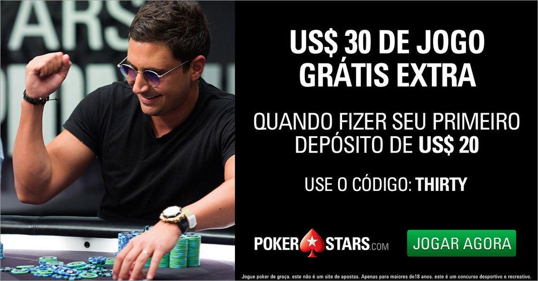Cupom de desconto PokerStars
