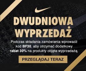 Nike promocja wyprzedaż